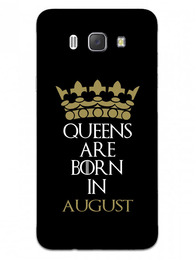 Queens August Samsung Galaxy J7 2016 Mobile Cover Case