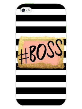 The Boss iPhone 5S Mobile Cover Case