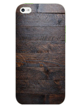 Wooden Wall iPhone 5S Mobile Cover Case