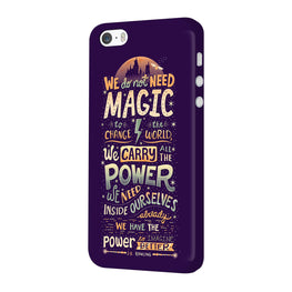 Harry Potter Quote iPhone 5 Mobile Cover Case