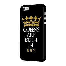 Queens July iPhone 5 Mobile Cover Case