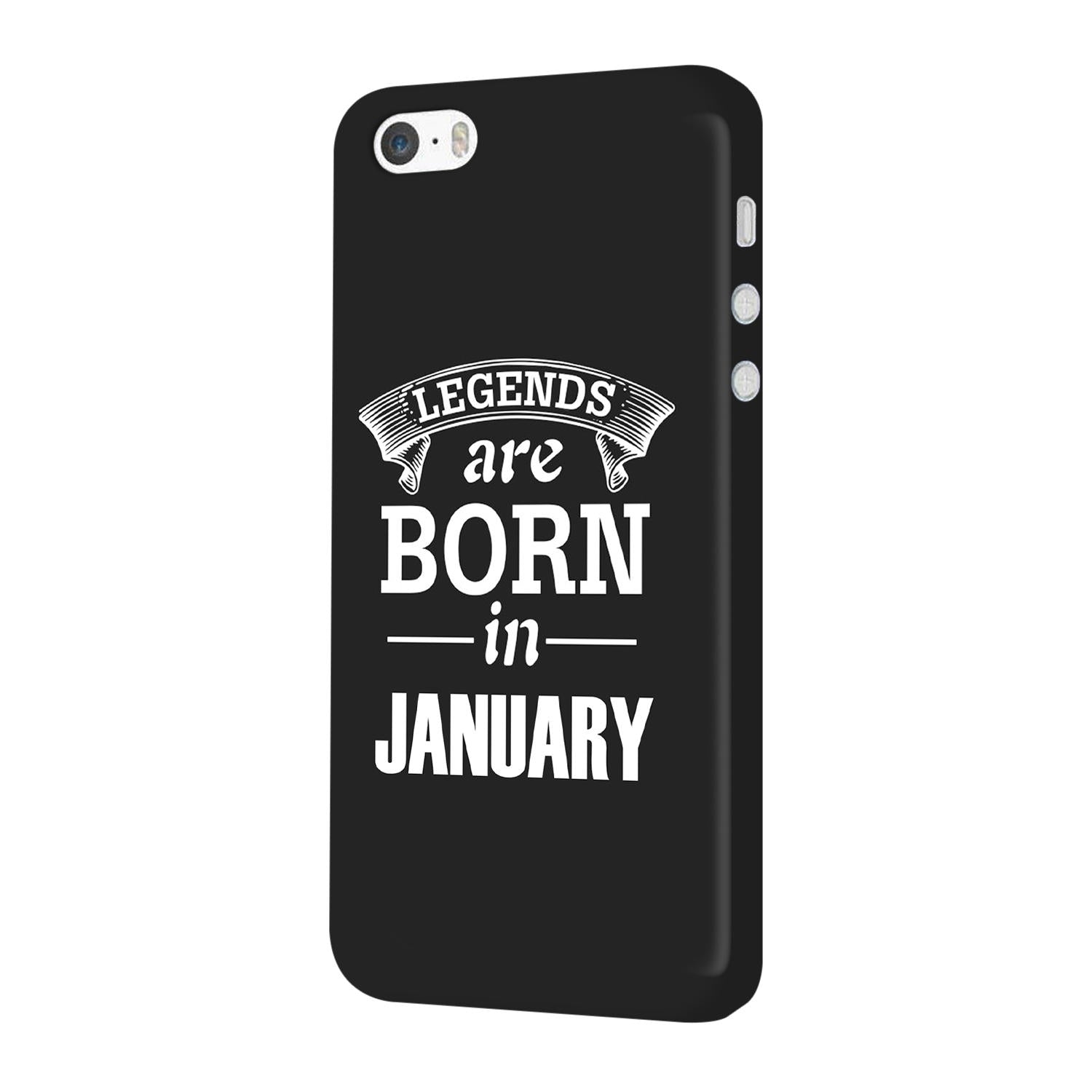 Legends January iPhone 5 Mobile Cover Case