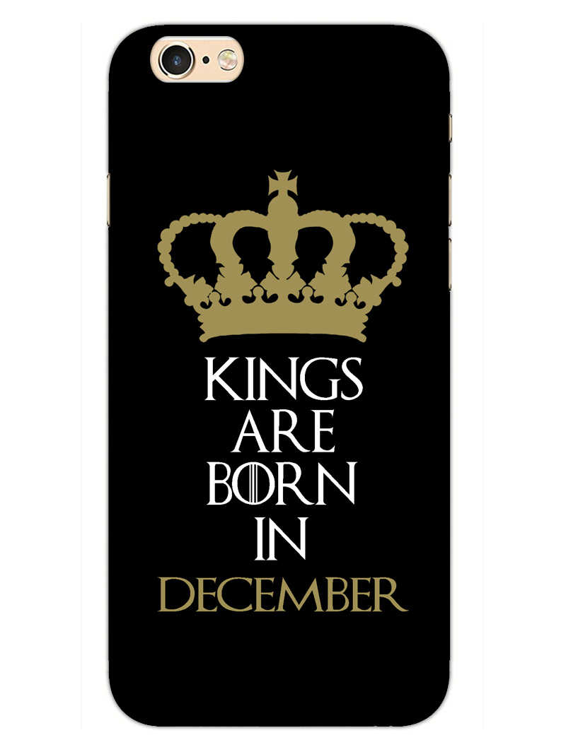 Kings December iPhone 6S Mobile Cover Case