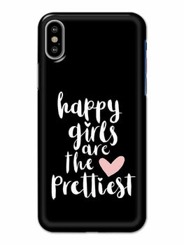 Happy Girls iPhone X Mobile Cover Case