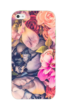 Flowers Blomming Roses Everywhere  iPhone 5S Mobile Cover Case