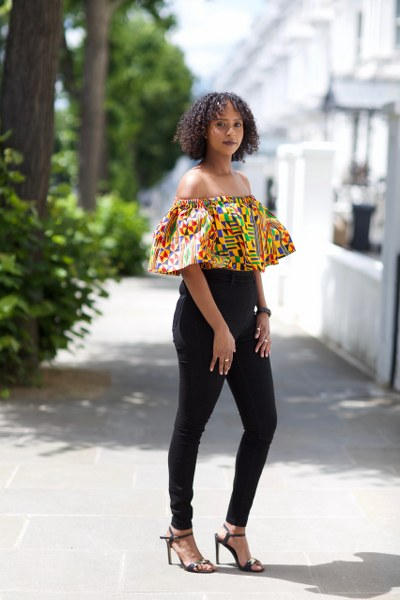 Monique off shoulder Peplum Top