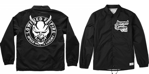Lowered Empire Logo Windbreaker