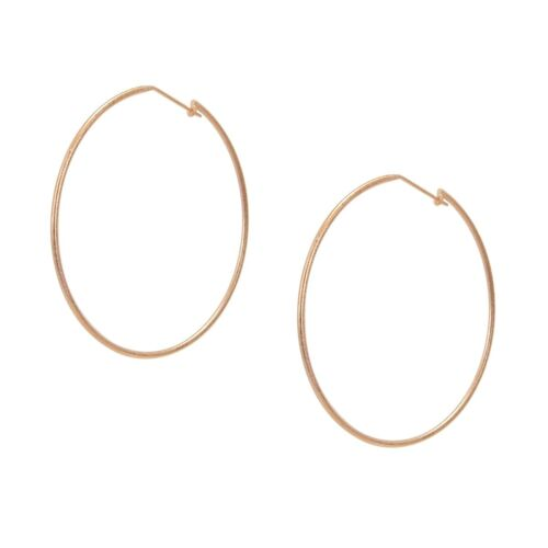 Sheila Fajl Lisa Featherweight Hoop Earrings in Rose Gold