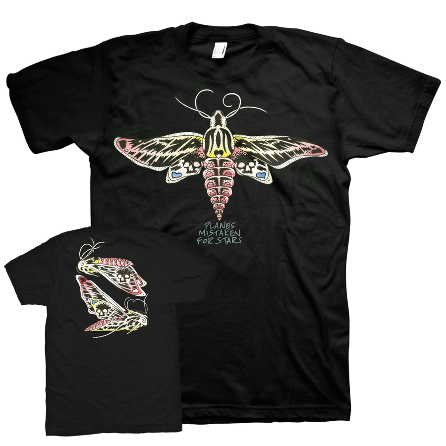 "PLANES MISTAKEN FOR STARS ""Moths"" T-Shirt-Deathwish Inc-Deathwish Inc Europe"