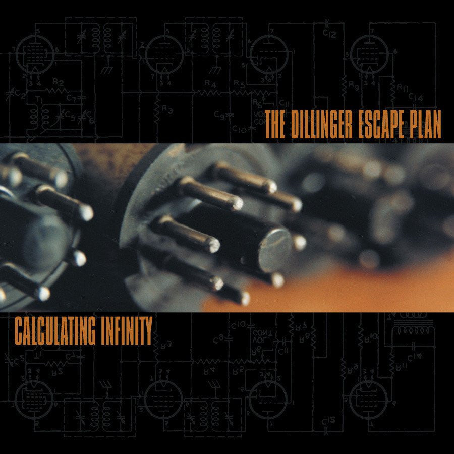 "THE DILLINGER ESCAPE PLAN ""Calculating Infinity""-Relapse Records-Deathwish Inc Europe"