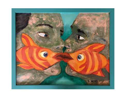 Kissy Face by Steve Head (Original Art)