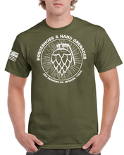 T-Shirt - Horseshoes & Hand Grenades - OD GREEN