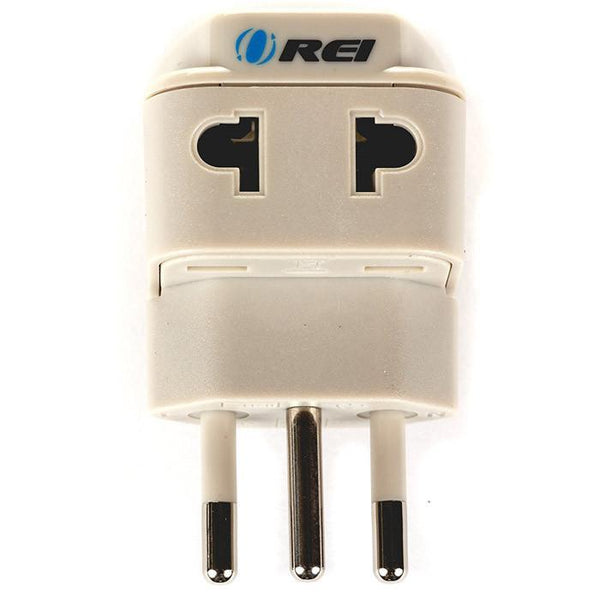 OREI Universal 2 in 1 Plug Adapter Type N for Brazil, High Quality, CE Certified - RoHS Compliant (WP-N-GN)
