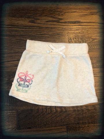 Terry Cloth Crown Skirt