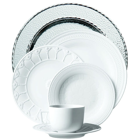 Palace Silver Charger 6-Piece Place Setting