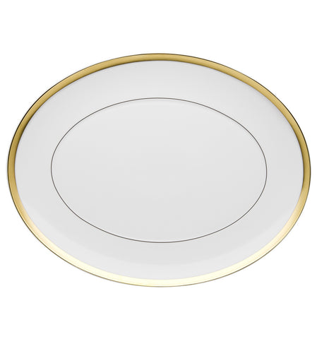 Domo Gold Large Oval Platter