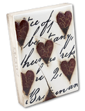 Memory Block  |  Red Hearts with Script