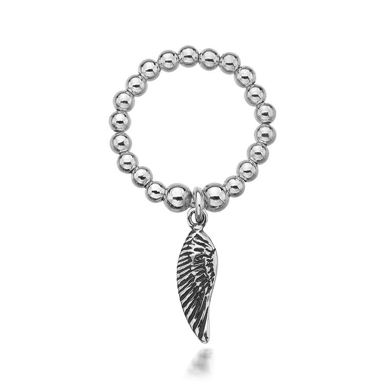 Charmeine Angel Wing Ring