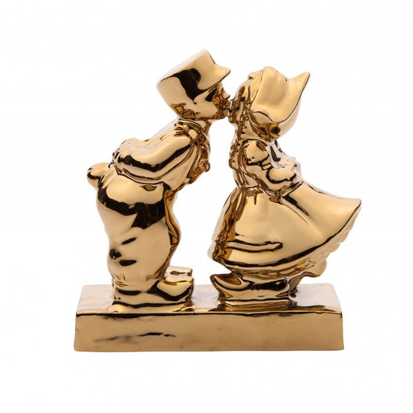 Kissing Couple Gold