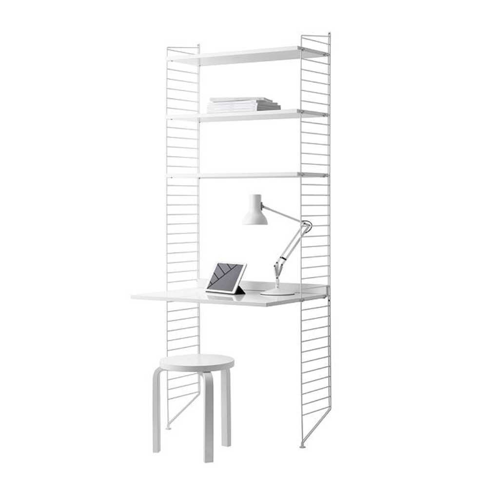 String® Shelving Unit with Work Desk