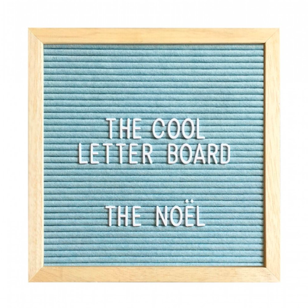 The Cool Company NOËL Letter Board . 25 x 25
