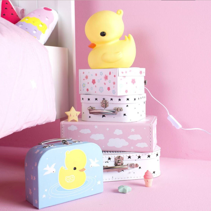 A Lovely Little Company Duck World Table Lamp