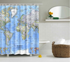 Image of World Map Shower Curtain