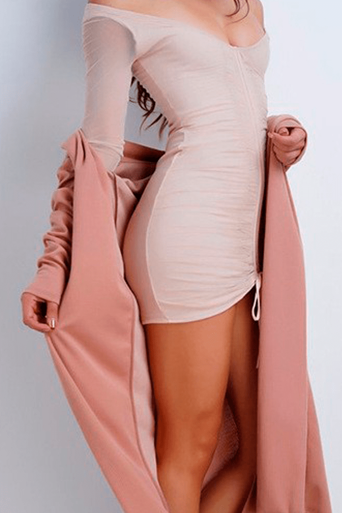 Stretchy Long Sleeve Dress