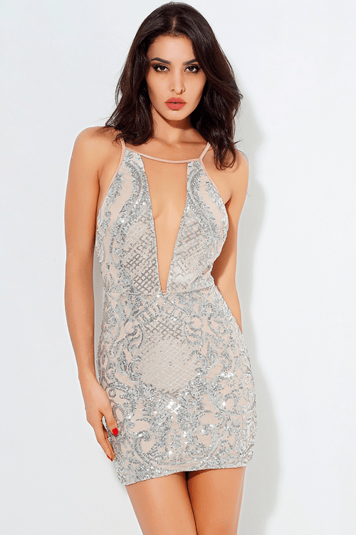 Lurex Sequin Dress