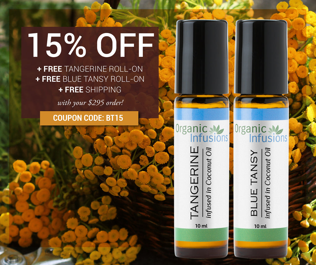 Free Tangerine Roll-On + Free Blue Tansy Roll-On