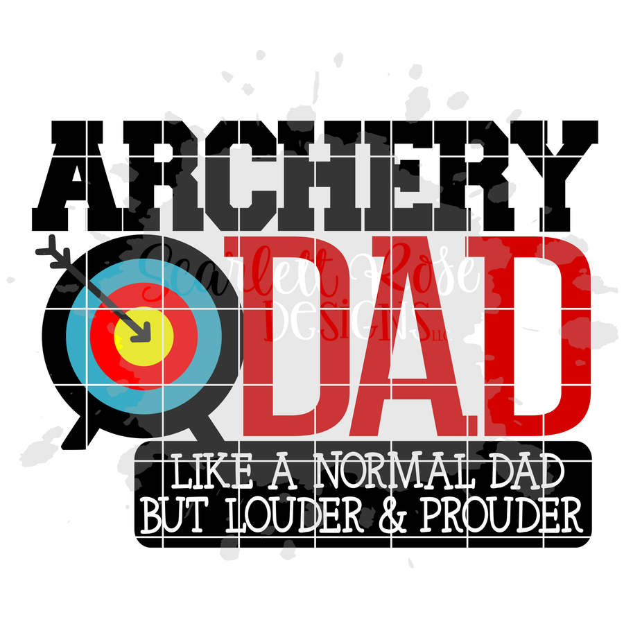 Archery Dad - Mom SVG SET