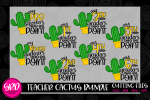 Teacher Cactus Bundle