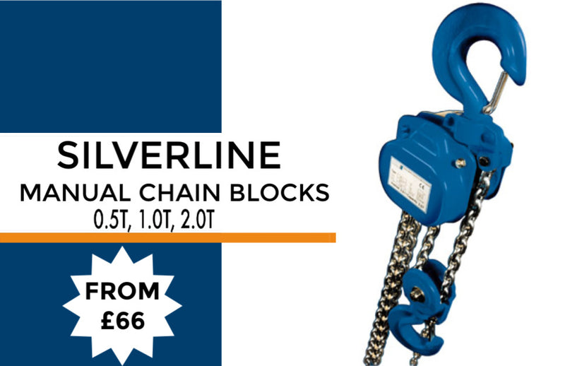Silverline Manual Hand Chain Block - LTM Lift Turn Move
