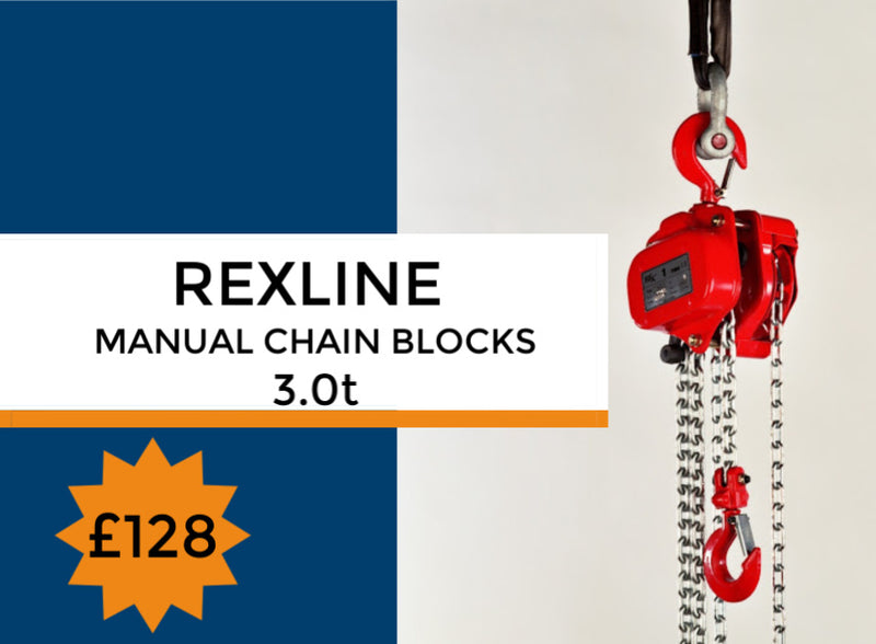 Rexline Manual Hand Chain Block - LTM Lift Turn Move