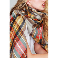 Load image into Gallery viewer, 'Isabella' Frayed Scarf