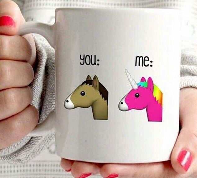 You & Me Unicorn Mug