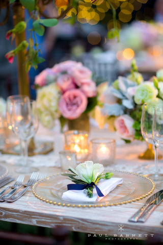 10 Beautiful Napkin Treatments to Choose for your Wedding Day