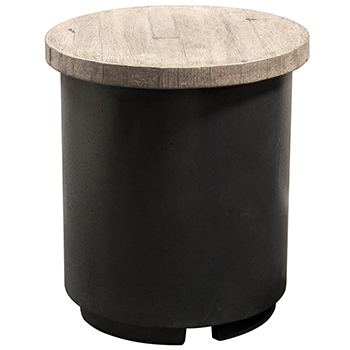 American Fyre Designs Reclaimed Wood Contempo Tank/ End Table