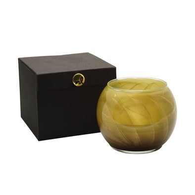 "Northern Lights Candles / 4"" Globe - Olive"