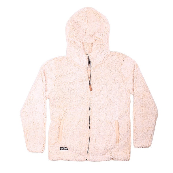 Hooded Sherpa Pullover - FINAL SALE - Simply Southern - The Sherpa Pullover Outlet