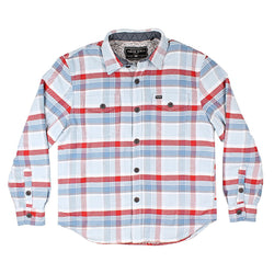 Big Sky Plaid Shirt Jacket with Sherpa Lining - FINAL SALE - True Grit - The Sherpa Pullover Outlet