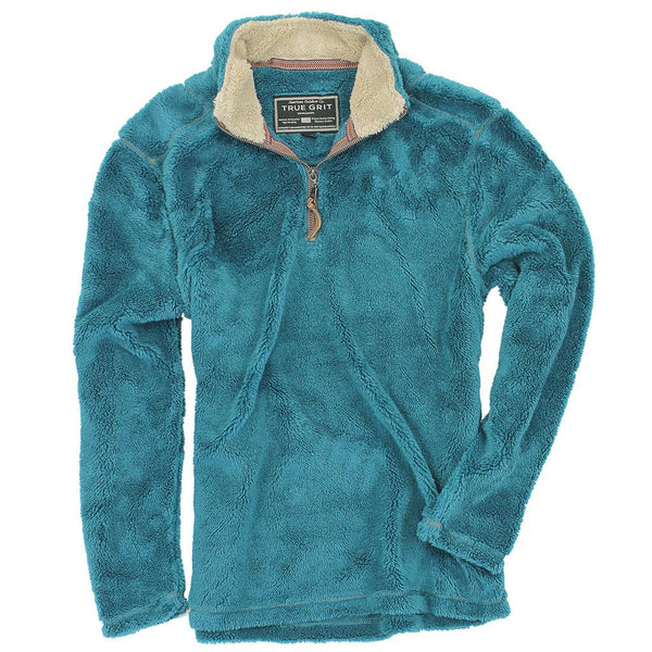 Pebble Pile Pullover - FINAL SALE - True Grit - The Sherpa Pullover Outlet