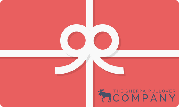 eGift Card - The Sherpa Pullover Co. - The Sherpa Pullover Outlet