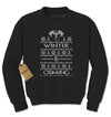 Winter Is Coming GoT Adult Crewneck Sweatshirt - Expression Tees