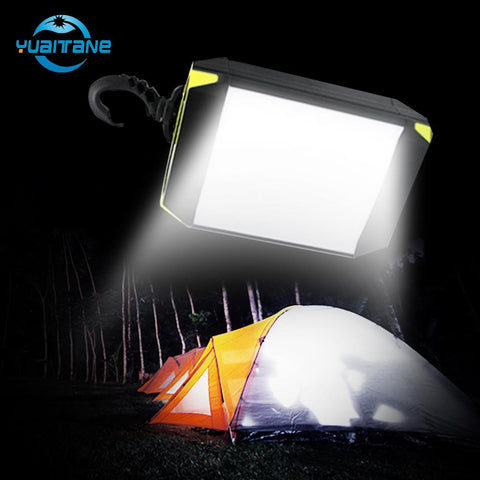 Flash Light Outdoor Portable Tent Lamp 30 LEDS Mobile Power Bank Camping Light Lantern