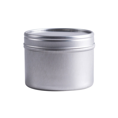 Earth's Aromatique - Aluminum Tin w/ Clear Top 4oz | Kolya Naturals, Canada