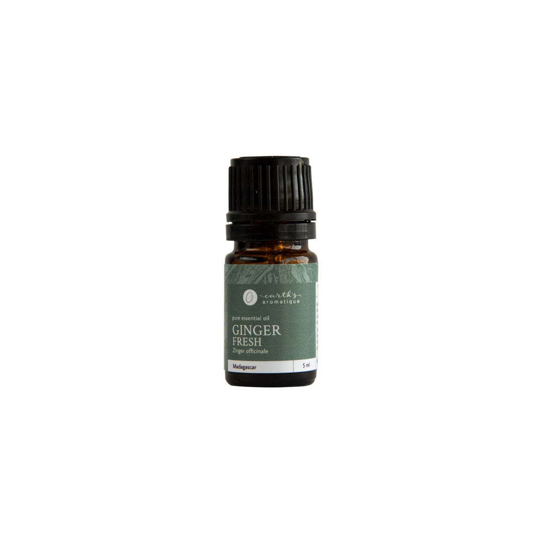 Earth's Aromatique - Fresh Ginger 5 mL Essential Oil | Kolya Naturals, Canada