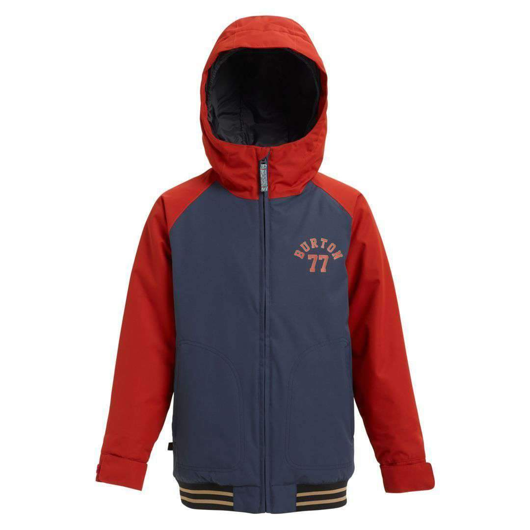 2019 BURTON BOYS GAMEDAY JACKET MOOD INDIGO / BITTERS