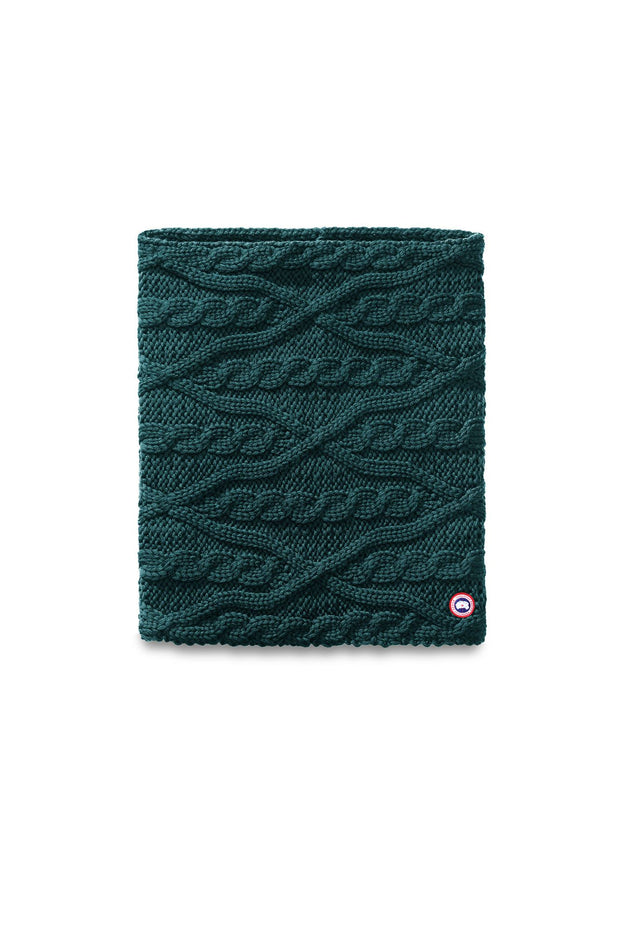 Canada Goose-Womens Merino Chunky Cable Snood - buy online with www.tehuianz.com