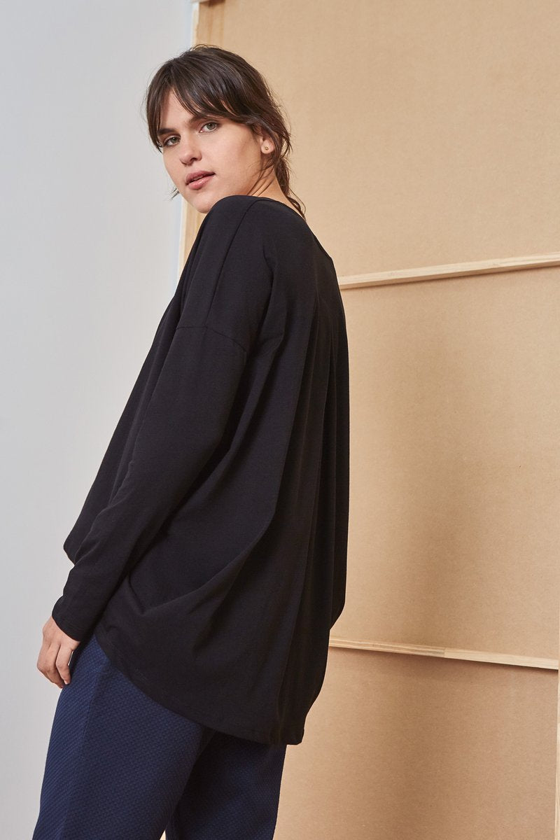kowtow drape top kowtow shop now online ethical cotton new zealand designer clothing nz stockists parnell